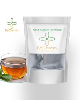 Apple Elderflower tea