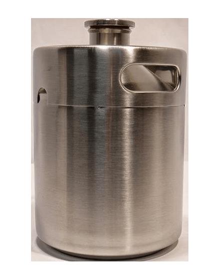 stainless steel mini keg growler