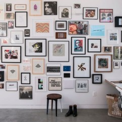 Small Rectangle Living Room Decorating Ideas 2 Black Cabinet How To Master The Mix And Match Art Wall