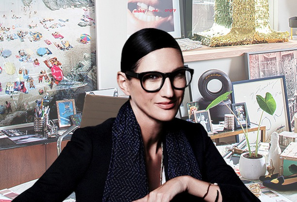 Jenna Lyons's Desk in the J. Crew Offices