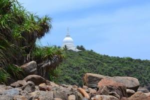 Peace pagoda - Photocredit Chris