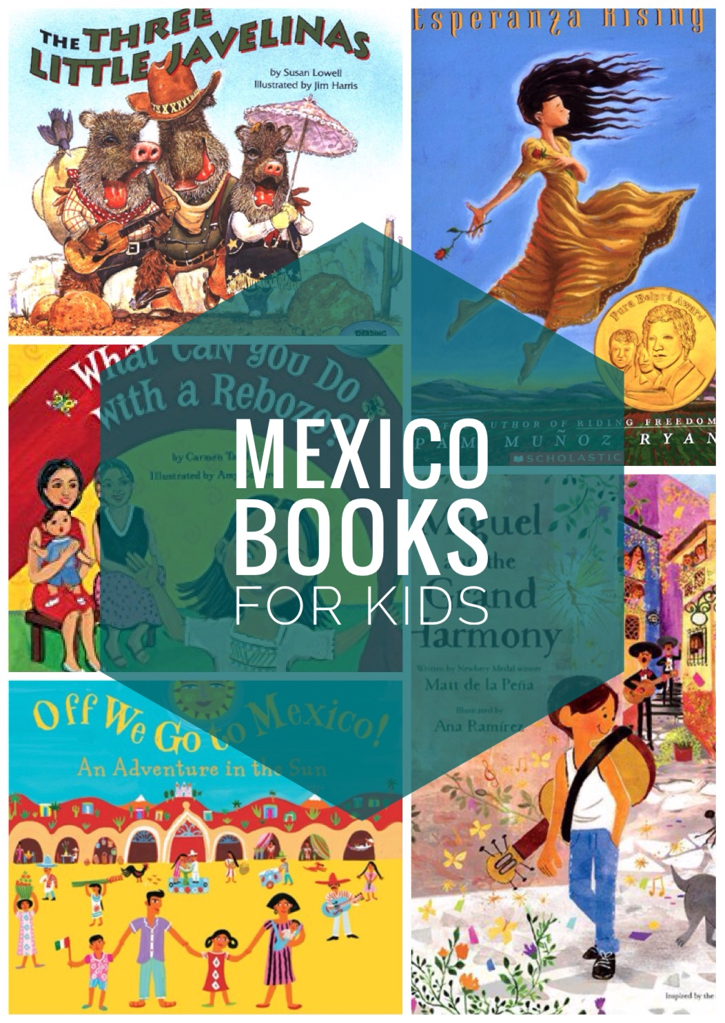 Mexico/Cinco de Mayo Books