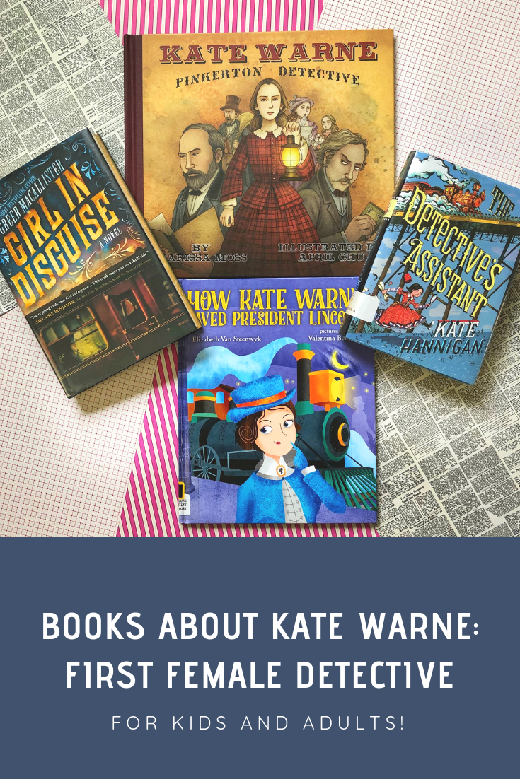 Four Fascinating Books about Kate Warne