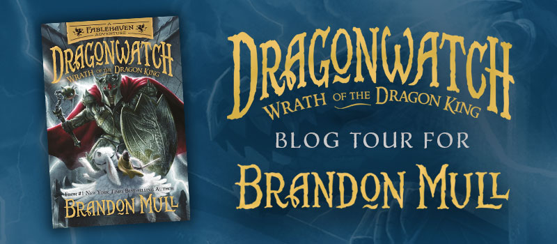 Blog Tour: Wrath of the Dragon King by Brandon Mull