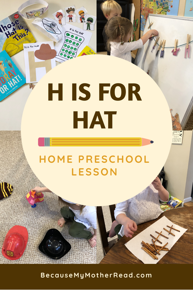 H is for Hat Lesson