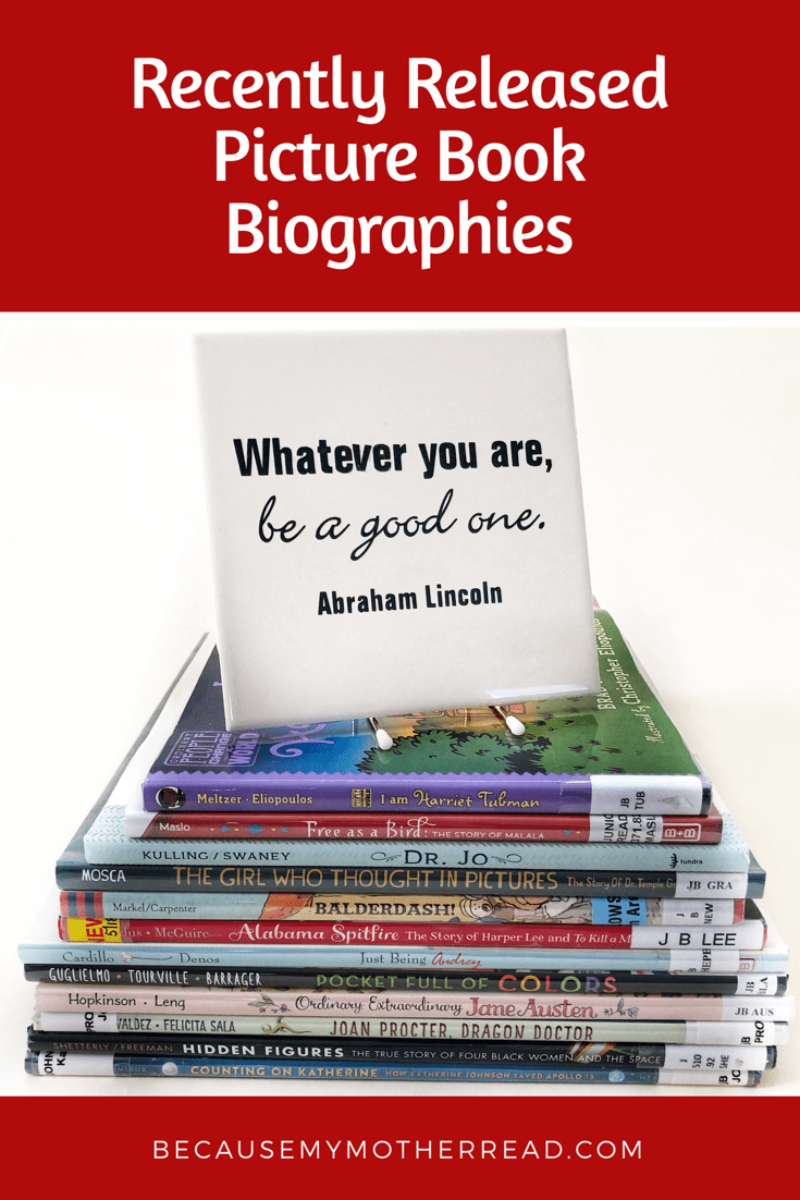 Recently Released Picture Book Biographies