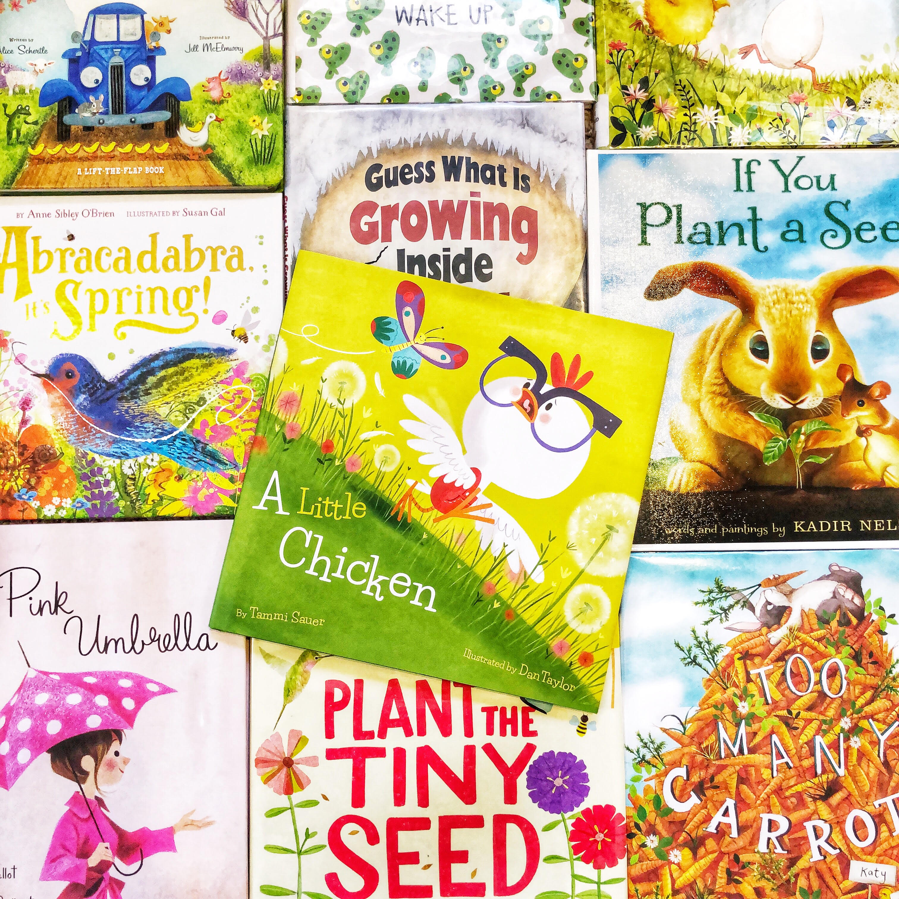 The Best Picture Books for Welcoming Spring