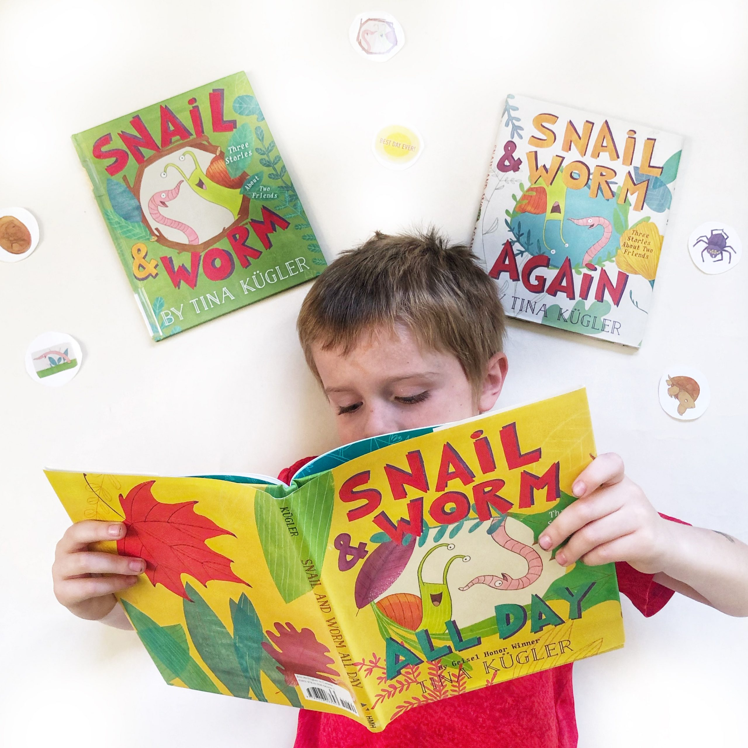Author Interview and Giveaway: Snail and Worm by Tina Kugler