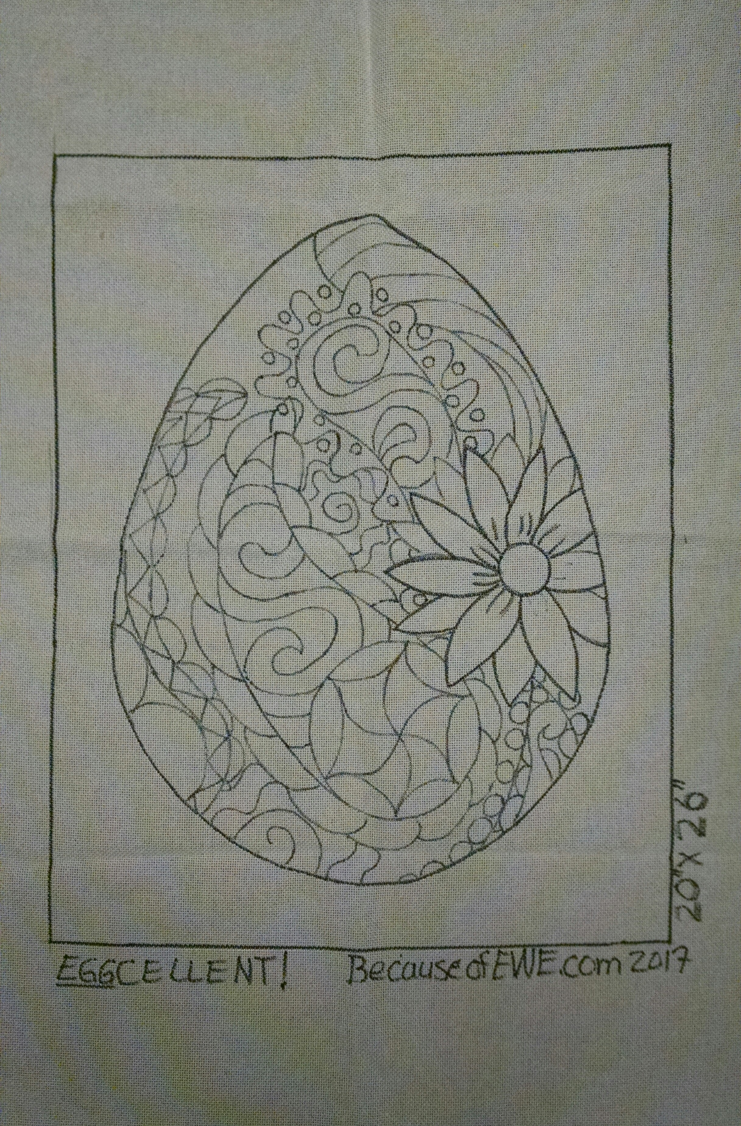 Quot Egg Quot Cellent Rug Hooking Pattern Because Of Ewe Llc
