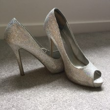 Cinderella Shoes - Silver