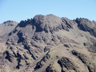 The ridge between Veleta and Mulhacen