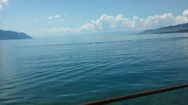A hot day along the shores of Lake Geneva