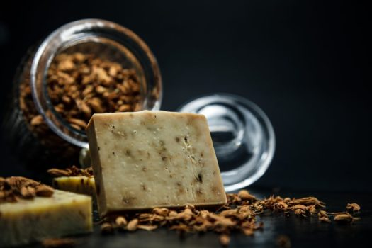 Image of bar soap, Photo by Paul Gaudriault on Unsplash