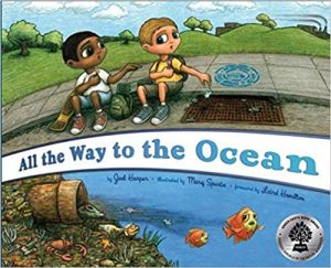 All the way to the ocean book cover