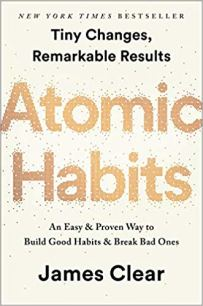 Cover of Atomic Habits book