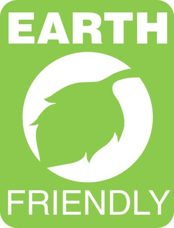 Earth friendly graphic