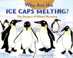 Book cover of Why Are the Ice Caps Melting?: The Dangers of Global Warming