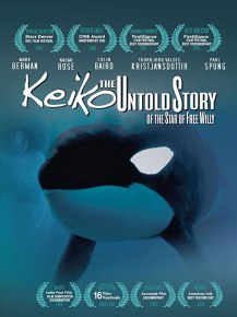 Keiko The Untold Story of the Star of Free Willy Film Cover