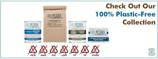 Meliora banner plastic free packaging