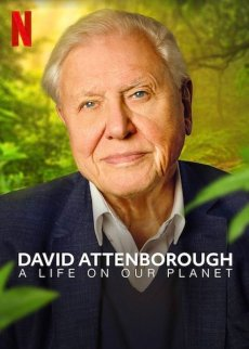 David Attenborough: A Life on Our Planet film cover art