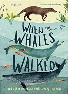 When the whales walked book cover