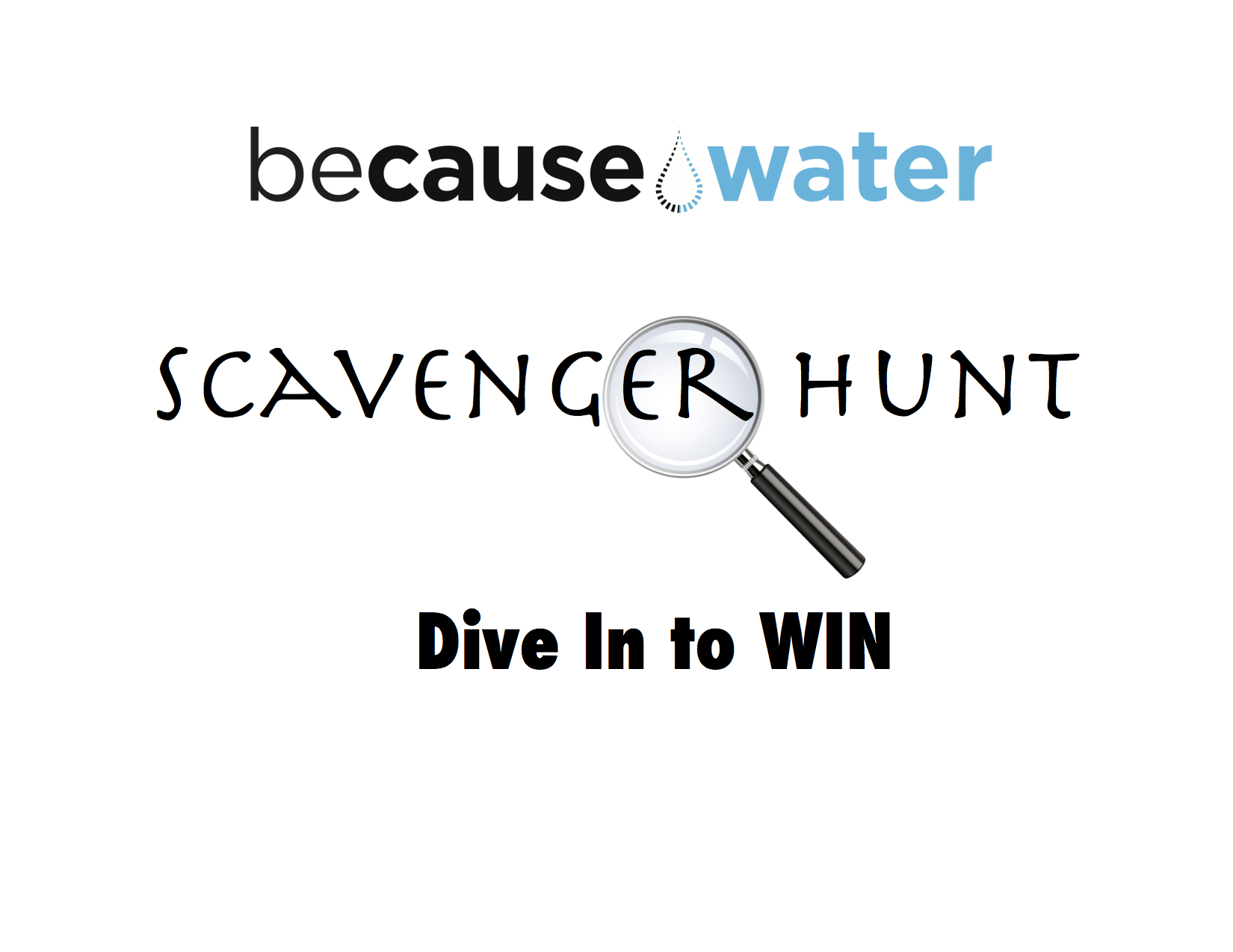 BeCause Water Scavenger HUNT!! Fri-Sat at Boston Greenfest