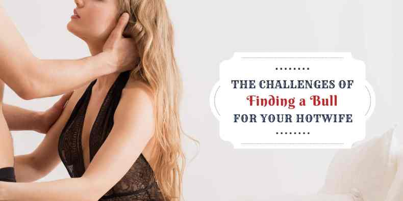 Challenges of finding a bull for your hotwife