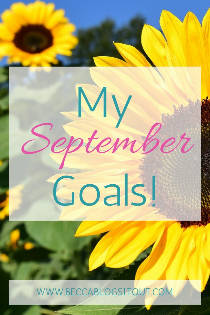 My September Goals