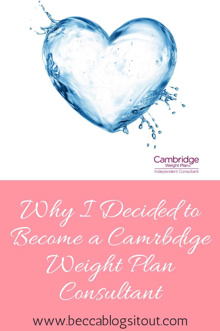 Why I Decided to Become a Cambridge Weight Loss Consultant
