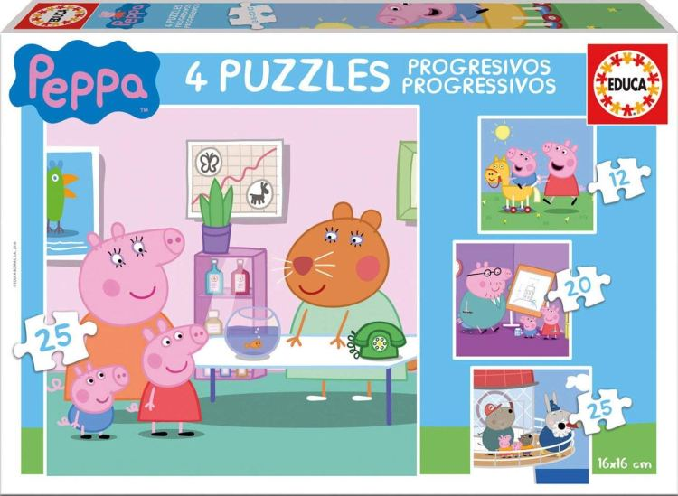 Peppa Pig puzzle set