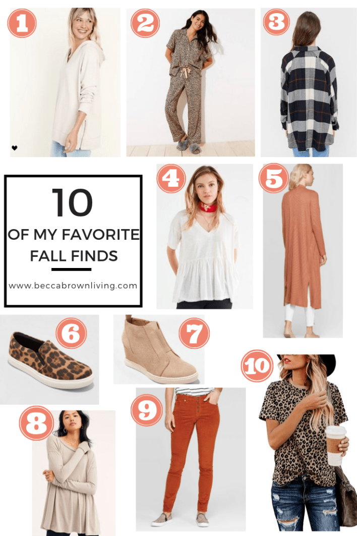 of my Favorite Fall Finds