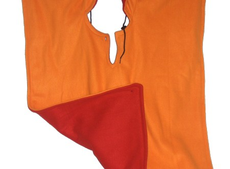 Orange and Red Wheelchair Cape | BeccaBug.com