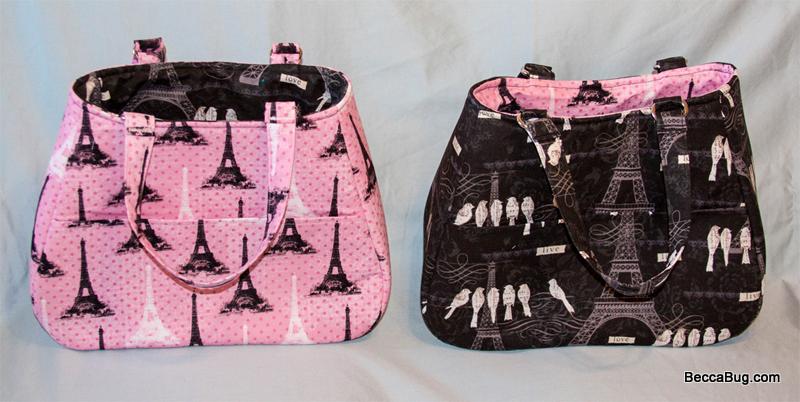 Pink/Black Paris - Swoon Ethel | BeccaBug.com