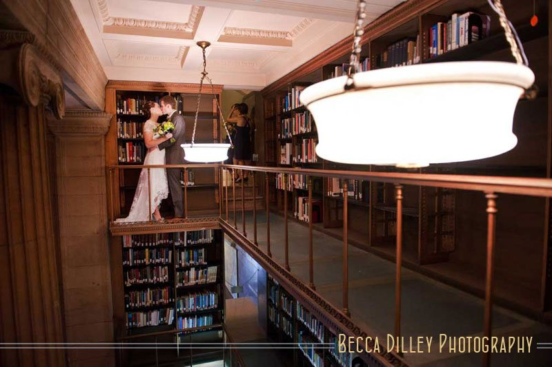 jj hill library wedding st paul mn
