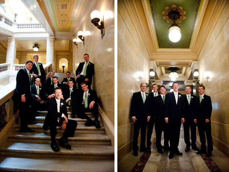 wedding portraits in capitol madison wi