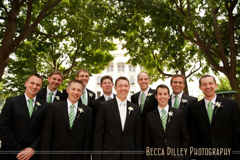 wedding photos at wi capitol madison