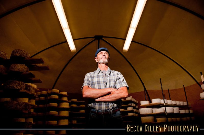 Willy Lehner Wisconsin artisan cheesemakers editorial portraits