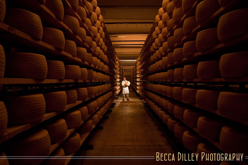 Gianni Tofolon Wisconsin artisan cheesemakers editorial portraits