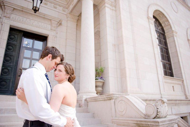 JJ Hill Library wedding St Paul, MN