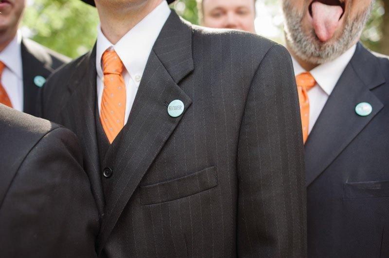 groomsmen boutonniere alternative of pins