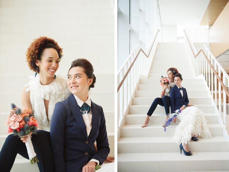 same sex wedding magazine