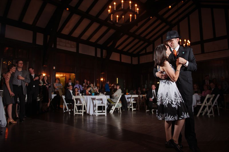 First dance at Theadore Wirth Park Chalet Minneapolis