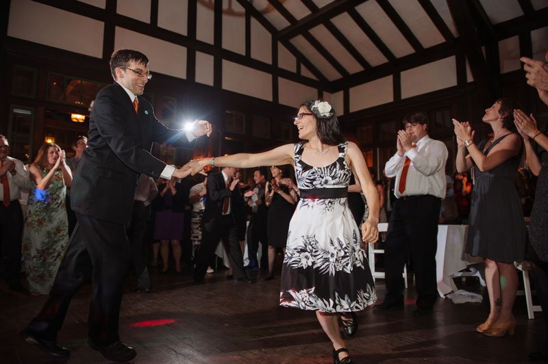 dancing at Theadore Wirth Park Chalet Minneapolis