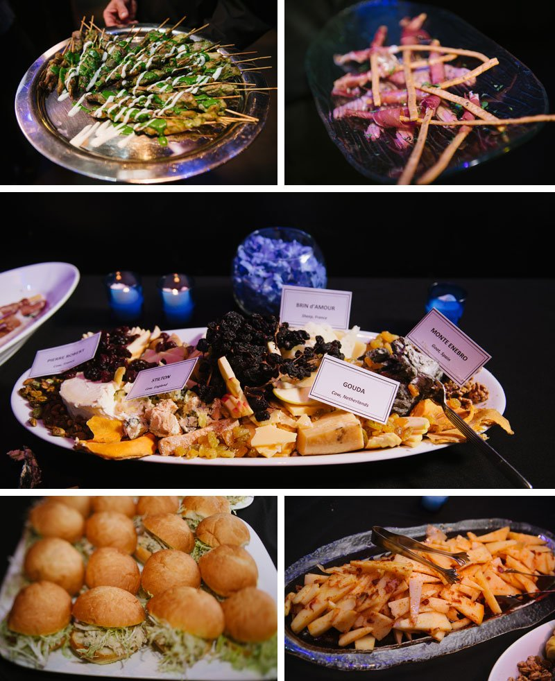 Guthrie theater wedding reception food