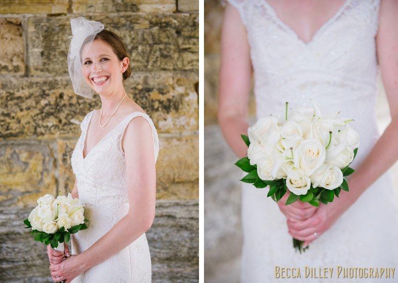 bride under stone arch bride minneapolis