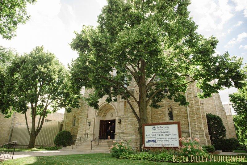 Bethlehem Lutheran Church wedding minneapolis mn