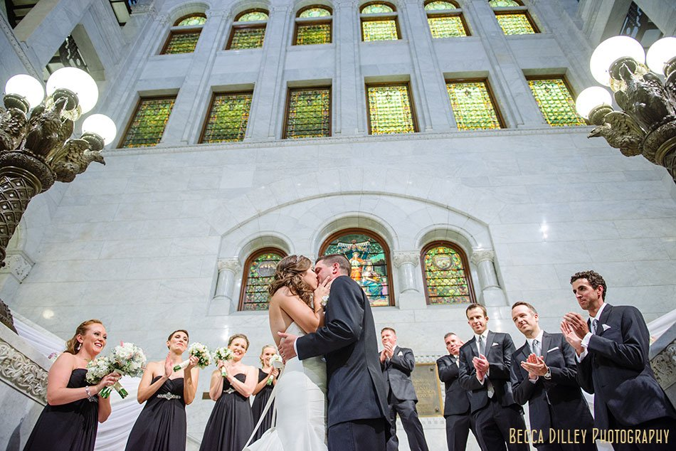 minneapolis city hall wedding ceremony