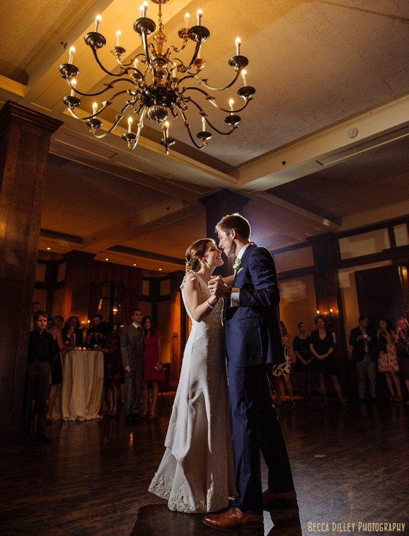 first dance at minneapolis club wedding