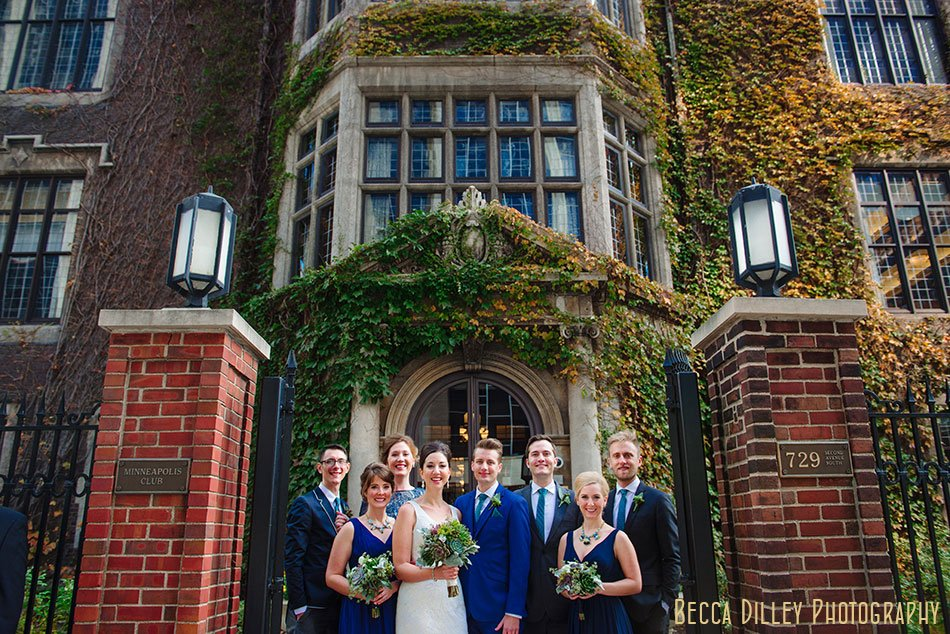 Minneapolis club wedding