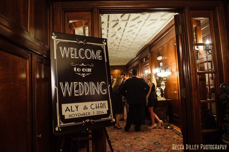 1920s style wedding minneapolis wedding at gale mansion